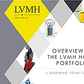 Template PowerPoint pour LVMH