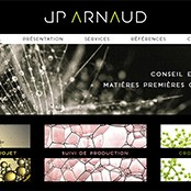 Site Internet pour JP ARNAUD